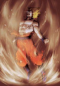 Goku by Roggles.deviantart.com on @deviantART