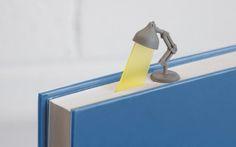 테이블 램프 모양의 책갈피 - Lightmark : 네이버 블로그