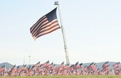The Field of Flags at the Sturgis Buffalo Chip