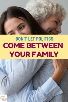 Family is everything, so don't let differences in politics tear you apart. Make a commitment to keeping the peace. These tips will help! #family #politics #conversations #love #peace Natural Parenting, Parenting Advice, Gentle Parenting, Your Family, Family Life, Politics On Facebook, Political Beliefs, Keep The Peace, What About Tomorrow
