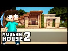 Minecraft Let´s Build: Small Modern House - Part 2 - YouTube