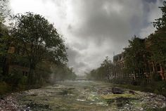 Post-apocalyptic Landscapes of Famous Places10