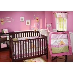 Winnie The Pooh Nursery Bedding Crib Set Pooh Crib