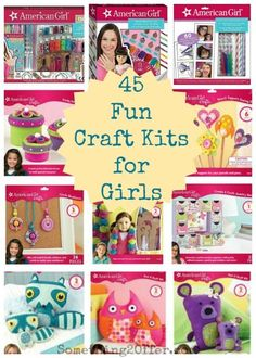 45 Fun Craft Kits for Girls