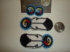 Nakonaeaglethunder - Native American Beadwork for Sale's - Earrings