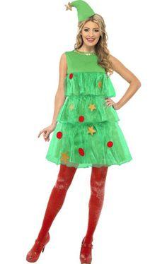 Christmas Tree Tutu Costume, Cute Christmas Tree Fancy Dress - Christmas Costumes at Escapade™ UK Angel Fancy Dress, Adult Fancy Dress, The Dress, Christmas Tree Fancy Dress, Christmas Tree Costume, Christmas Tutu, Funny Christmas, Tacky Christmas Outfit, Christmas Wrapping