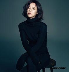 South Korean actress Hwang Jung-eum for Marie Claire Feb Korean Actresses, Korean Actors, Actors & Actresses, Korean Star, Korean Girl, Marie Claire, Korean Celebrities, Celebs, Female Celebrities