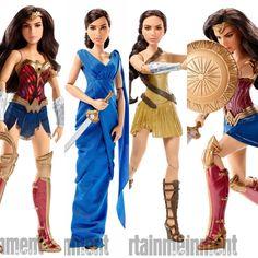 Wonder Woman Movie Dolls 2017