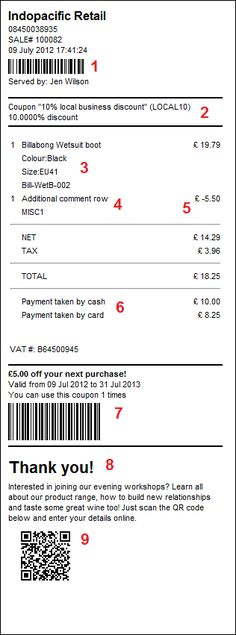 receipt1jpg (794×692) Receipt Design Pinterest - how do you make a receipt
