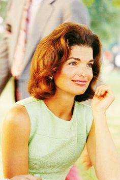 Jackie O in mint green