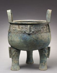 Ding, 1200-1000 BC                                                China, late Shang dynasty (c.1650-c.1050 BC) - early Western Zhou dynasty (c.1050-771 BC)