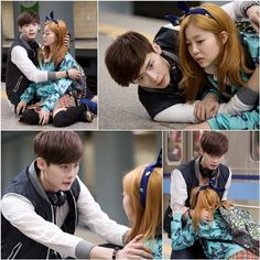 Lee Jong Suk protects Kim Ga Eun in his arms in new still cuts from 'I Hear Your Voice' | allkpop