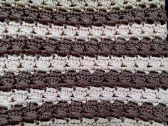 Punto 1 tejido a crochet