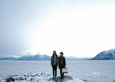 Apolis Nomads Chelsea and Michael Spear, exploring Alaska
