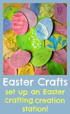 Easter crafts    easter egg bunting 458a7fe88a6