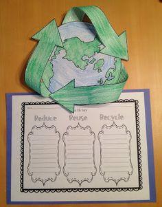 FREE Earth Day Craftivity