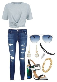 """""""Untitled #705"""" by gabbyriera on Polyvore featuring J Brand, Christian Dior, T By Alexander Wang, Dsquared2, Effy Jewelry and Calvin Klein"""
