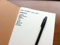 Organizacion de cuadernos / how organize a notebook