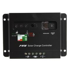 30A 12V/24V Auto PWM Solar Panel Regulator Battery Charge Controller With LED Light
