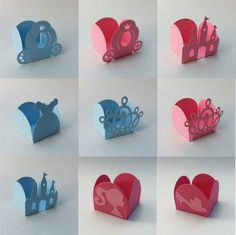 forminhas Print And Cut Silhouette, Silhouette Cameo, Art N Craft, Craft Box, Diy Arts And Crafts, Paper Crafts, Diy Crafts, Disney Princess Birthday Party, Lalaloopsy Party