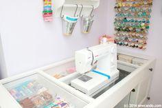 Costure pode fazer: Fazendo um sonho Craft Quarto em um pequeno espaço