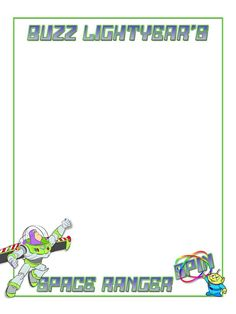 Journal Card - Buzz Lightyear's Space Ranger Spin - 3x4 photo…