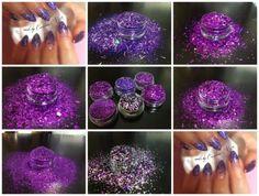 GlitterArty Nails Special Glitter 6 Pot Set 3ml or 10ml for Nails Gel / Acrylic | eBay