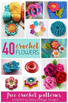 Free flower crochet patterns are some of my favorite crochet patterns. I'm always on the lookout for another beautiful flower pattern – whether it's to embellish a hat, glue on a headband, or decorate