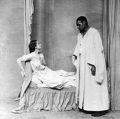 Peggy Ashcroft y Paul Robeson en OTHELLO (Londres,1930).