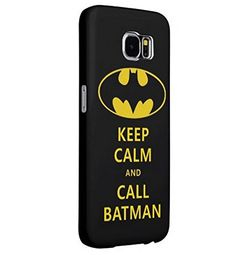Batman Samsung Galaxy S6 hard Case CoverDurable Hard Back Cover[Wear Resistant] [Impact Resistant] [Drop Protection] Cases Shells Poly-Carbonate (PC) Back Case Black [Wear Resistant] Plastic S 6 protective shell