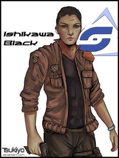 ARTWORK : Artwork by RETROUVEZ ISHIKAWA DANS... - Bienvenue en enfer - [Spectrum Episode 01]... Et les épisodes suivants... -Ishikawa BLACK - [Spectrum Hors-Serie 02] ID : Nom : Jae Ishi...