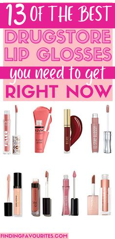 Looking for the best drugstore lipgloss dupes? Check out this amazing collection of must-have, affordable, drugstore makeup dupes lipgloss that everyone can't stop talking about! #bestdrugstorelipglossdupes Best Drugstore Lip Gloss, Best Lip Gloss, Drugstore Makeup Dupes, Plumping Lip Gloss, Lip Hydration, Kissable Lips, Makeup Products, Beauty Products, Drugstore Foundation