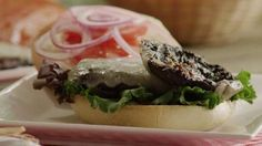 Portobello Mushroom Burgers Video
