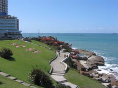 Playa chica, Mar del Plata - Argentina Largest Countries, Countries Of The World, Great Places, Beautiful Places, Places To Travel, Places To Visit, Down South, Mexico Travel, Country