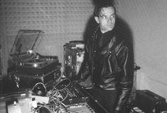 radioactive913:Ralf Hutter of Kraftwerk in the studio