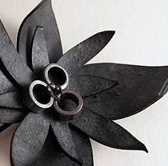 innertube flower-- Just getting some ideas...