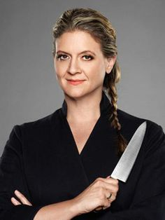 AMANDA FRIETAG - To me, more known as a judge on Chopped, but I like the girl. (Laura)