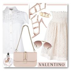 """""""Ode to Valentino"""" by brendariley-1 ❤ liked on Polyvore featuring RED Valentino and Valentino"""