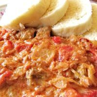 Recept : Tokajský guláš II. | ReceptyOnLine.cz - kuchařka, recepty a inspirace Top Recipes, Cookbook Recipes, Mashed Potatoes, Macaroni And Cheese, Chili, Soup, Ethnic Recipes, Inspirational, Red Peppers
