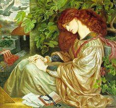 Pia de' Tolomei (1868–1880) by Dante Gabriel Rossetti - Pre Raphaelite Art