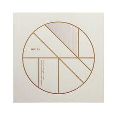 Geometric Notebook GEOMETRIC NOTEBOOK by Kristina Krogh on DLK