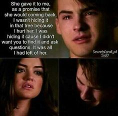 Pretty Little Liars Aria and Mike