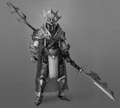 Sun palace spearman | ArtStation - Medieval Fantasy Character Concepts , Gabriel Ramos