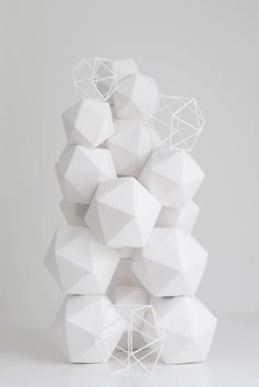 "Saatchi Art Artist mo cornelisse; Sculpture, ""kubus object 7"" #art"