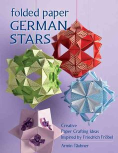 Paper folding crafts are fun for all ages! You'll be amazed at what you can create with pretty paper and a few strategic folds. Colorful Froebel stars can be used as ornaments, table decorations, cand