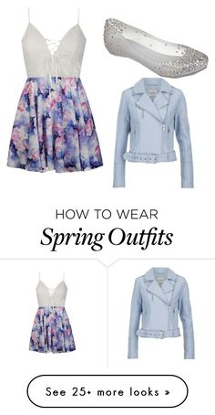 """""""Spring day outfit"""" by dejlovescheetahs on Polyvore featuring Ally Fashion, Melissa and Gestuz"""