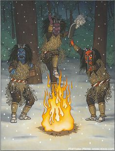 A-Yokai-A-Day: Namahage Posted on Saturday October 10th, 2015 Namahage is a really well-known yokai, famous across Japan—which is strange when you consider that it is only a local yokai from the small, northern prefecture of Akita. For a prefecture that has barely over 1 million people, it has managed to leave its mark on the national consciousness of Japan.  Part of the reason namahage are so well known is because of the namahage festival which is televised nationally. Although many…