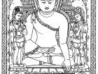 Display image coloring-adult-tibetain-bouddha