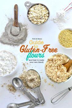 Guide to Gluten-Free Flours http://www.forkandbeans.com/2013/12/30/guide-gluten-free-flours/?crlt.pid=camp.Eu4JoMZiGYp1
