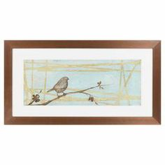 Sparrow Framed Print II
